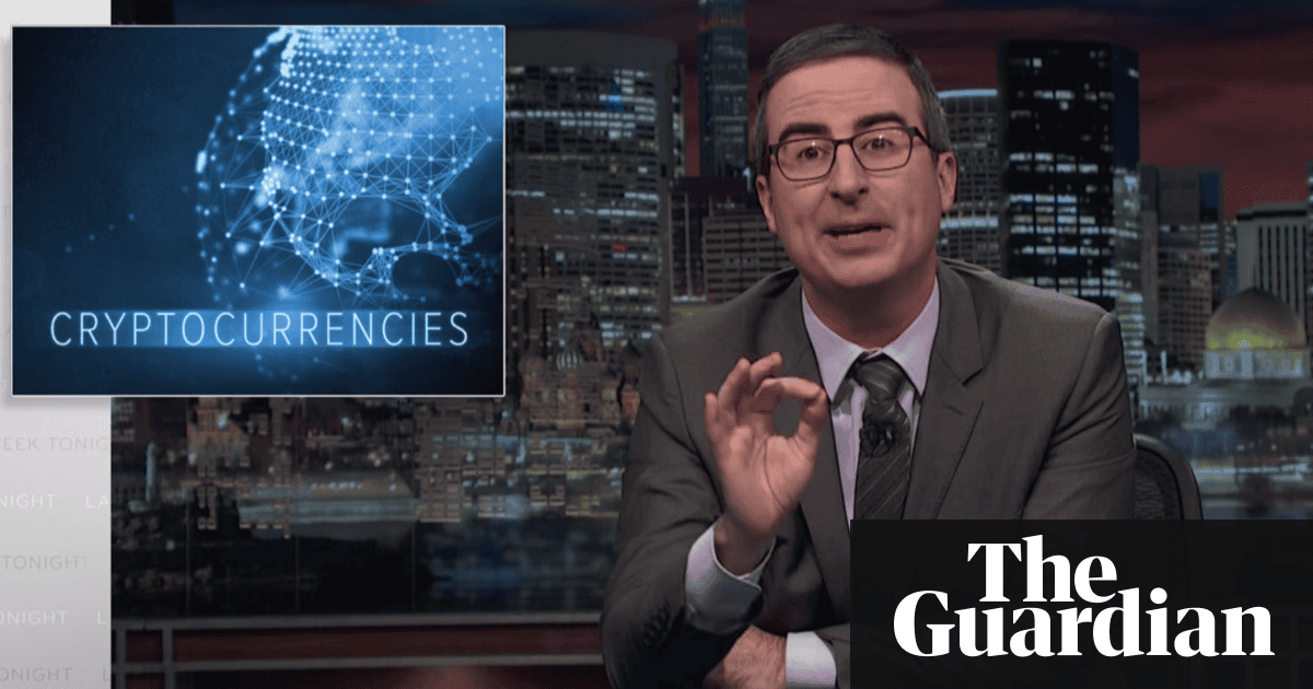 John Oliver on cryptocurrency: 'Youre not investing, youre gambling'
