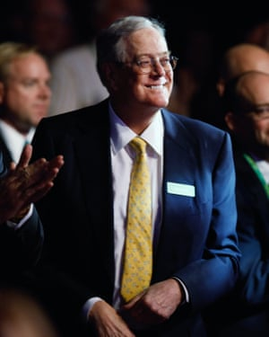 Americans for Prosperity Foundation chairman and Koch Industries Executive Vice President David H. Koch. The Koch brothers, major conservative donors, have contributed to criminal justice reform efforts.