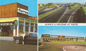 A postcard featuring Newport Pagnell, from the 1960s.