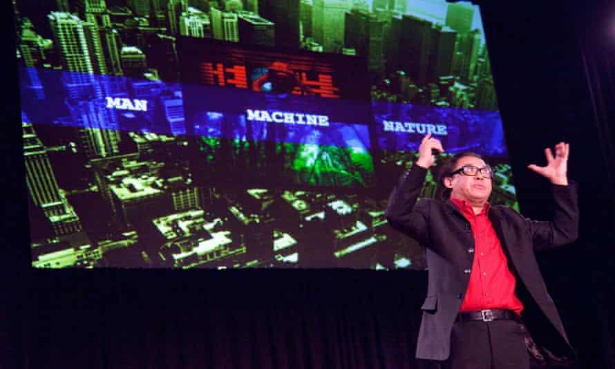 TED X Brooklyn Event Karl Chu speakingBYR6N4 TED X Brooklyn Event Karl Chu speaking