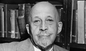 a portrait of w e b du bois in his later years