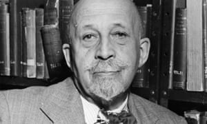 WEB Du Bois, anthropologist, publicist and co-founder of the NAACP.