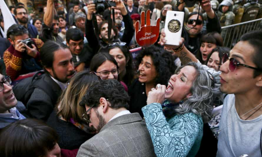 Celebrations as Chile's constitutional court upholds a measure ending the country's absolute ban on abortions, in Santiago