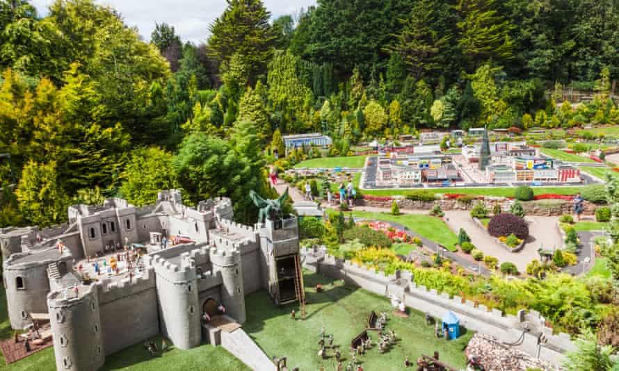 انگلیس ، دوون ، تورکی ، باباکومب ، دهکده و باغ های مدل باباکومب