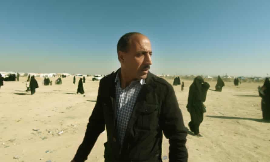 Yazidi Home Center's Mahmud in a scene from Sabaya.