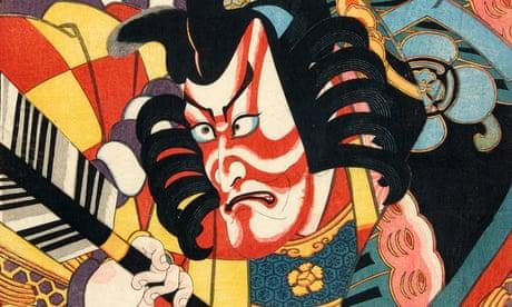 Japanese kabuki prints – in pictures