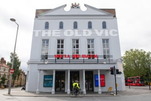 London's Old Vic last week.
