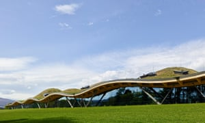 Drams and drama… the Macallan distillery and visitor centre in Speyside, designed by Rogers Stirk Harbour and Partners.