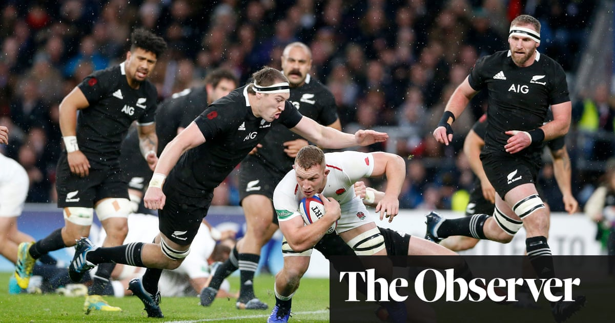 26d2501b908 England 15-16 New Zealand: how the players rated at Twickenham. Sam  Underhill shines but is denied glory after Beauden Barrett ...