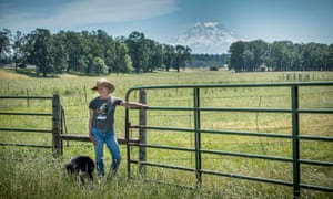 Rancher Becky Harlow Weed. Before she started with Crowd Cow, she sold her beef to high-end butcher shops. She said it was a daunting prospect to always have to try to sell the next steer. Now, she sells three steers to Crowd Cow every four weeks, and gets a steady payment.
