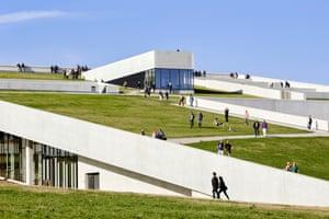 Moesgaard Museum in Aarhus, Denmark