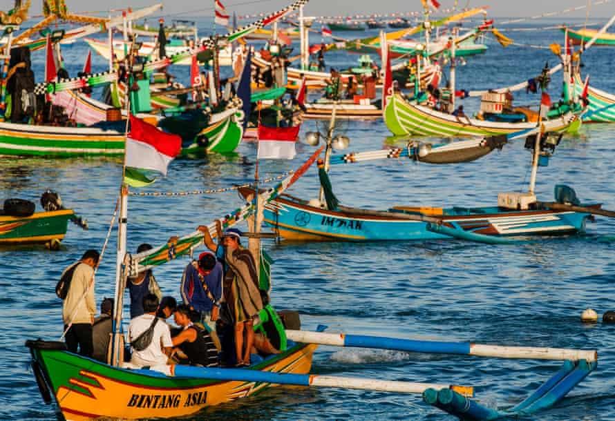 Artisanal fishing in Indonesia
