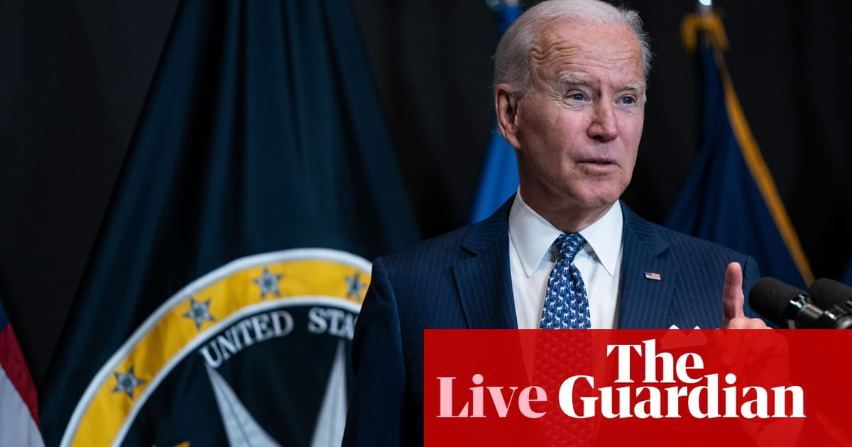 Biden expected to announce vaccine mandate for US federal employees – live