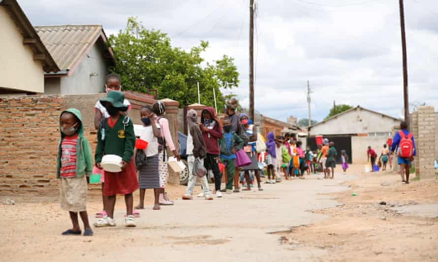 'We could have lost her': Zimbabwe's children go hungry as crisis deepens