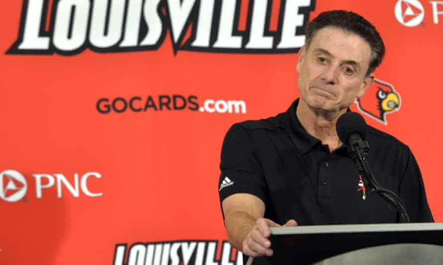 Rick Pitino escaped a more serious charge of a lack of institutional control