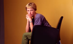 Cindy Sherman, American artist, photographer and film maker, on a visit to the Edinburgh Film Festival in 1997.