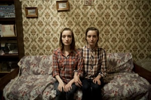 Twins at Home by Arthur Popov