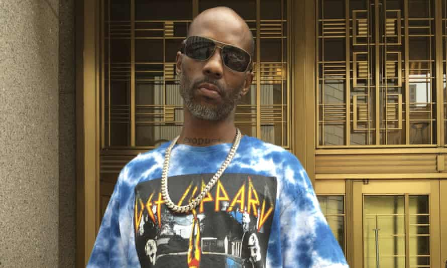 DMX pictured during his tax fraud trial in August 2017.