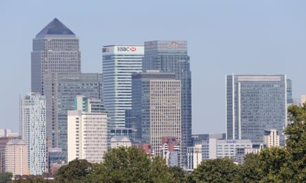 Britain's banking sector is at serious risk.