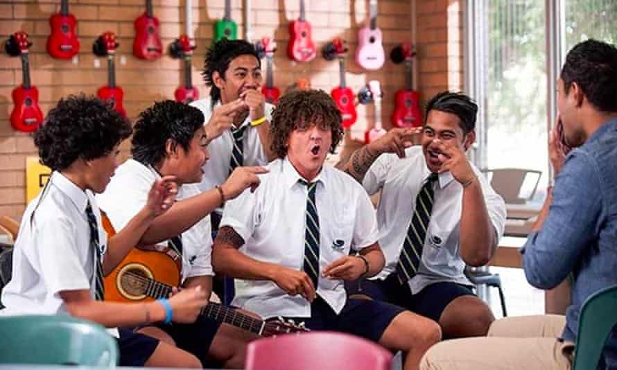 Chris Lilley in the Australian comedy series Jonah from Tonga