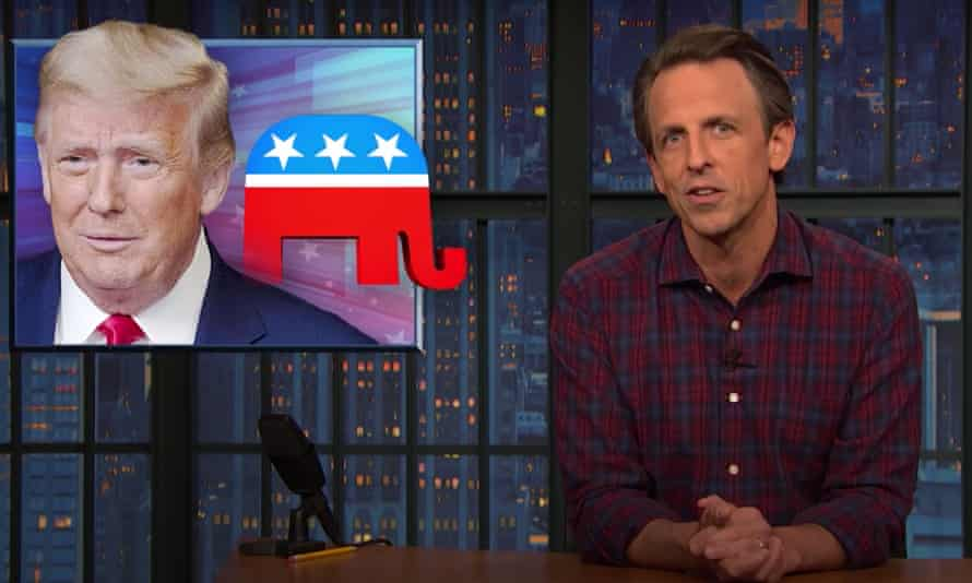 """Seth Meyers on GOP-backed Texas lawsuit aiming to overturn Biden's victory in Pennsylvania: """"This is what Trump and the Republican Party obsessively focused on as thousands of Americans die every day from a pandemic they clearly don't care about."""""""