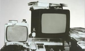 Michelangelo Pistoletto's Television, 1962-83.