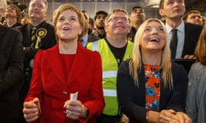 Nicola Sturgeon on local election results day