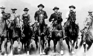 Classic remake … The Magnificent Seven.