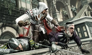 Assassin's Creed II shows that in video games, the polticial backstabbing is often literal