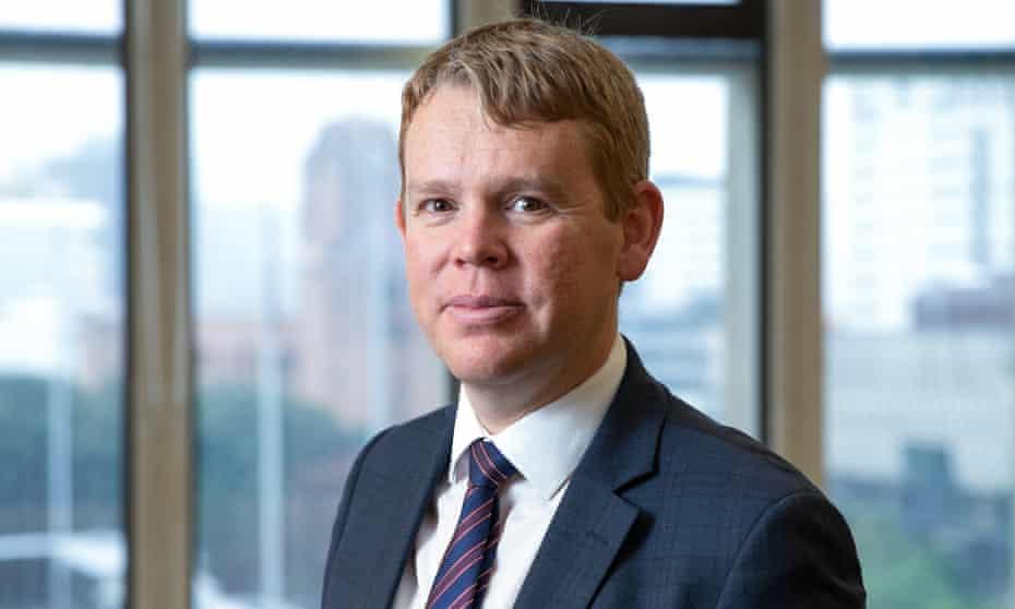 New Zealand's Covid-19 response minister Chris Hipkins.