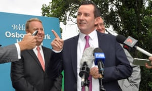 The Western Australian Labor leader, Mark McGowan, says WA is the meth capital of Australia and probably the world