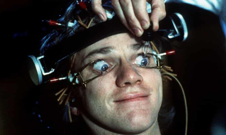 When the surgeon clips your eye open it's like a scene from Clockwork Orange.