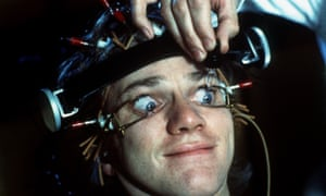 A still from the film A Clockwork Orange, starring Malcolm McDowell.