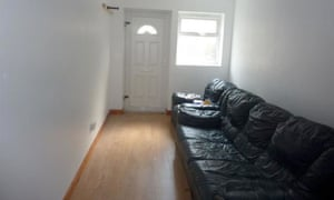 For rent a one bedroom london garage flat for 850pm business a sofa inside the garage flat solutioingenieria Choice Image