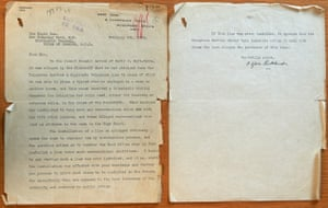 Newly unearthed Sylvia Pankhurst letter