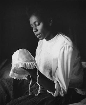 Florestine with Baby's Cap, Los Angeles, 1950