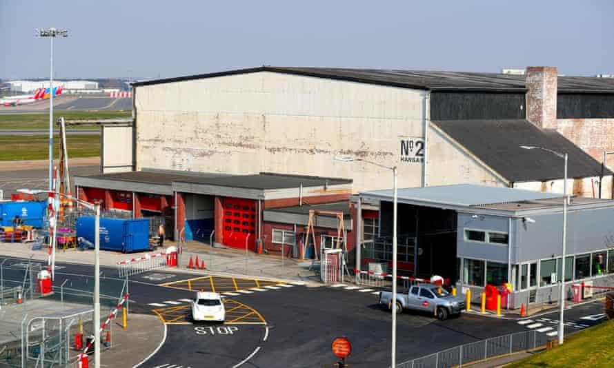 Hangar at Birmingham airport