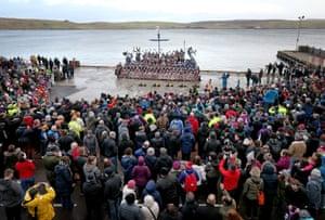 Shetland Isles, Scotland Members of the Jarl Squad