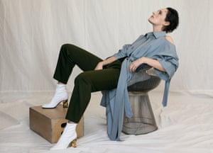 Portrait of writer and actor Phoebe Waller-Bridge