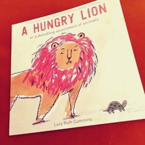 Hungry Lion or a Dwindling Assortment of Animals by Lucy Ruth CumminsReviewed by Sarah Jed, Lucy, and JoshHilarious, cute but incredibly dark all at the same time! This is unlike any other picture book out there. Filled with dark humour and surprises on every page. This is a must have for any shelf!