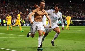 Cristiano Ronaldo score the winning penalty to send Real Madrid through.