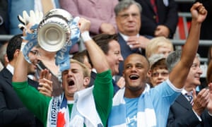 Joe Hart and Kompany conspired to shut out Stoke as Manchester City won their first trophy under Sheikh Mansour's ownership.