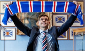 Steven Gerrard has taken his first managerial job at Rangers after making a good impression with Liverpool's youngsters.