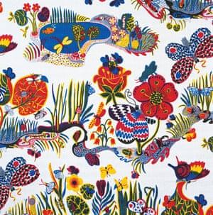 Josef Frank, Butterfly, 1943-45 Designed for Svenskt Tenn during a period working in New York, this pattern was inspired by the book Butterflies of America