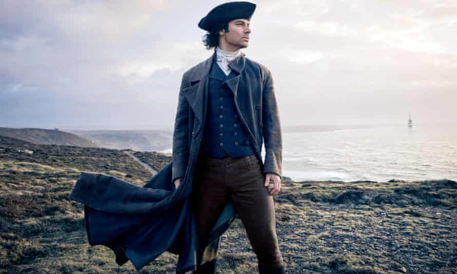 Aidan Turner as Ross Poldark. At its peak almost 10m people were watching the first series of the BBC show