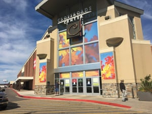 The closed Crossroads Center mall