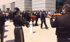 funeral with music