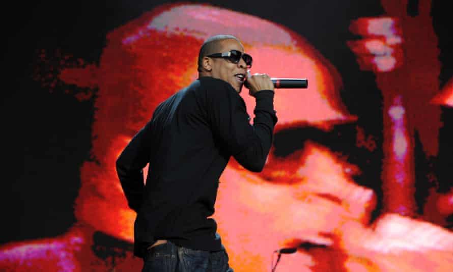 Jay-Z at Wireless in 2008.