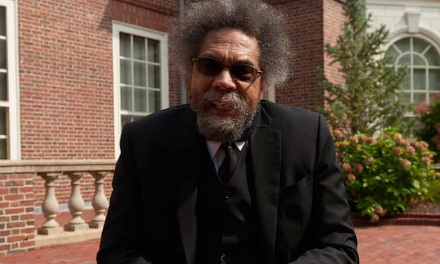 Cornel West photographed at Harvard University in 2020.