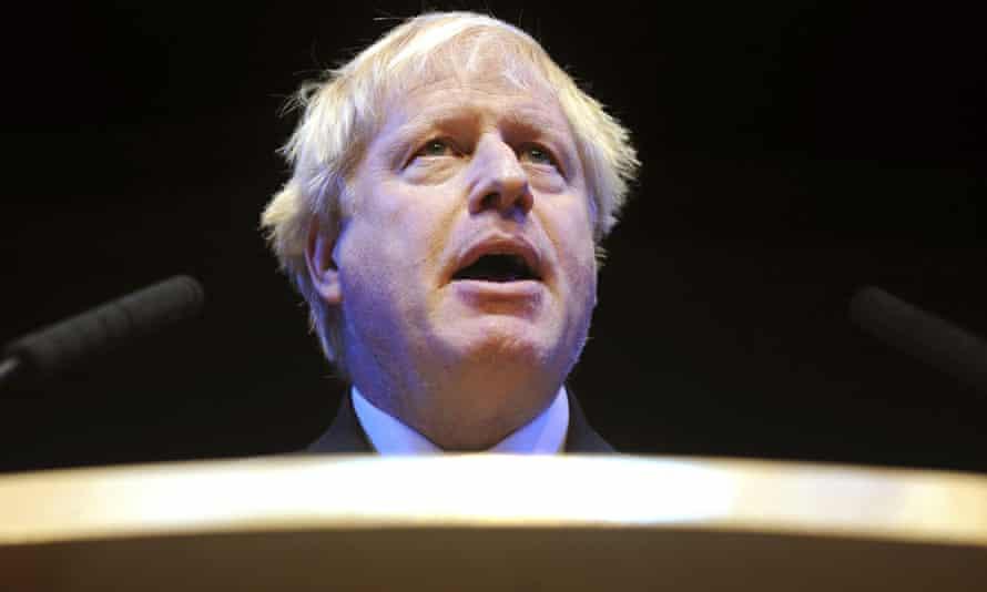 Boris Johnson in 2018.